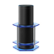 Speaker Stand Guard for Amazon Echo / UE Boom and Other Models, Enhanced Strength Holder Protect and Stabilise Alexa, Non-Slip Anti-Roll Station Mount