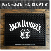Bar mat counter Bar Mat JACK DANIELS (Jack Daniel's) glass holder / kitchen miscellaneous goods wide