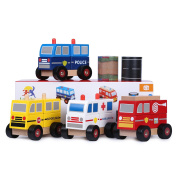 Ray's Toys Stacking Toy Trucks & Road Tapes