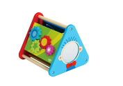 5 in 1 Wooden Triangle Activity Box Educational Toy for Toddlers-Premium Quality-TKC509-S12