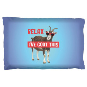 Relax I've Goat Got This Pillow Case Multi Standard One Size
