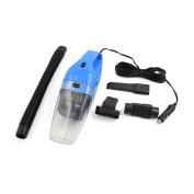 Unique Bargains DC 12V 120W Blue Handheld Dry or Wet Dust Suction Vacuum Cleaner for Car Vehicle