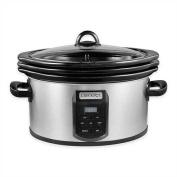 Crock-pot SCCPVS642-S Choose-A-Crock Programmable Slow Cooker, 5.7l/5.7l/2 x 5.7l, Silver