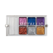 European Body Art Encore Versa Alcohol Palette, Metallic Edition