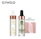 O.TWO.O 2pcs/set Liquid Highlighter+24K Rose Gold Make Up Oil Make Up Set