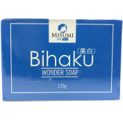 Misumi Bihaku Soap 135g | Japanese commercial term that refers to beauty products with functions of skin whitening or brightening.