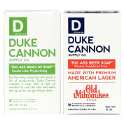 """Duke Cannon """"Big Ass Brick of Soap"""" Smells Like Productivity and Big Ass Beer Soap"""