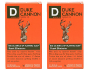 Duke Cannon Big 'Ol Brick of Hunting Soap (Pack of 2) with All Natural Tallow Soap Base, Coconut Oil, Water, Hardwork, Fragrance and Steel Cut Oats, Manufactured in the USA, 300ml