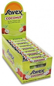 Savex Coconut Lip Balm Sticks 24ctx5ml