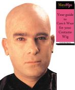 Flesh Colour Bald Cap - Cinema Secrets Woochie Professional Latex Balding Beige Head Bundle with MaxWigs Costume Wig Care Guide