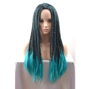 COSIN Long Braided Halloween Cosplay Wigs for Adult and Kids