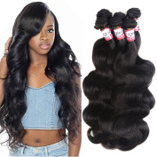 Brazilian Body Wave 6 Bundles Human Hair Extensions 7A Unprocessed Virgin Hair 50g/pcs
