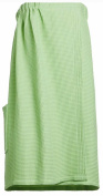 Spa Wrap Towel Bath Wrap One Size Adjustable Lime Green