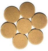 Cork Drink Coasters - Blank Reusable Absorbent Eco-friendly DIY Tile Craft Board -Protect Furniture From Damage and Water Rings Restaurant Cafe Supplies
