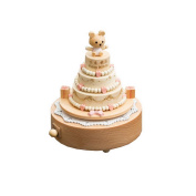 Wooden Music Box Fashion Decoration for Home Living Room Bedroom