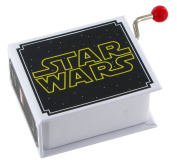 18-note hand-cranked musical box in the shape of a book - Main theme from Star Wars