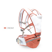 SONARIN 360°Breathable Premium Hipseat Baby Carrier, Ergonomic, Mummy bag,100% Cotton, Breathable mesh backing, Easy to Carry and Easy Mom, Cosy & Soothing For Babies,Adapted to Your Child's Growing, 100% GUARANTEE and FREE DELIVERY,Ideal Gift