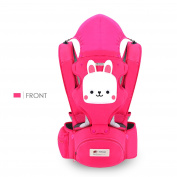 SONARIN 3 in 1 Multifunction Cartoon Hipseat Baby Carrier, Ergonomic,100% Cotton, One Size Fits All, Easy to Carry and Easy Mom, Cosy & Soothing For Babies,Adapted to Your Child's Growing, 100% GUARANTEE and FREE DELIVERY,Ideal Gift