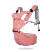 SONARIN Front Premium Hipseat Baby Carrier, Multifunctional, Ergonomic, 100% cotton, butterfly rotary buckle, 6 Carrying Positions,Safe and Comfortable, Adapted to Your Child's Growing,Easy to Carry and Easy Mom, Ideal Gift