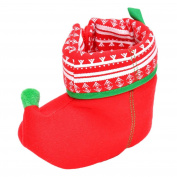 Baby Booties,Toddler Newborn Baby Boy Girl Soft Sole Christmas Boot Kids Warm Anti-slip Shoes