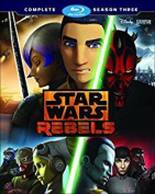 Star Wars: Rebels - Season 3 [Region B] [Blu-ray]