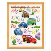 Disney Cars Counted Cross Stitch Kit