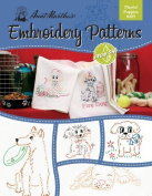 Aunt Martha's Playful Puppies Embroidery Transfer Pattern Book Kit by Colonial Patterns, Inc.