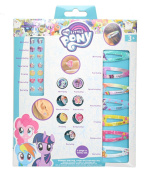 Children's My Little Pony 7 Days Sticker Earring, Rings & Hair Clip Set