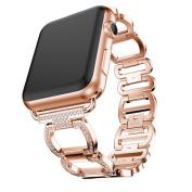 For Apple Watch Series 3/2/1 38mm Adjustable Stainless Steel Bracelet Smart Watch Band Strap,170-220MM,Repair Tool,Tuscom