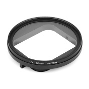 D & F 58mm CPL Lens Filter Circular Polarizer with Lens Cover Cap for GoPro Hero 5 Housing Case