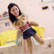 Vercart Medium Size Cute Cuddly Stuffed Animals Plush Teddy Bear Toy Doll For Children Gift 60cm Brown