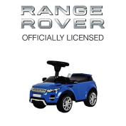 """Licenced Ride On BLUE Range """"Rover Evoque"""" Toy Sports Racing Car Push Along Sliding"""