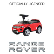 """Licenced Ride On RED Range """"Rover Evoque"""" Toy Sports Racing Car Push Along Sliding"""