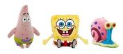 Spongebob - Pack 3 Plush toy Bob (28cm) + Patrick (31cm) + Gary (13cm) - Quality super soft