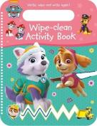 Nickelodeon PAW Patrol Wipe-Clean Activity Book