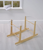 High quality Natural/Pine Wooden Moses Basket Rocking Stand