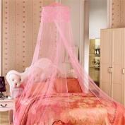 Simonshop Elegant Dome Princess Lace Bed Mosquito Net Anti Canopy Fly Insect Mesh Screen Curtain