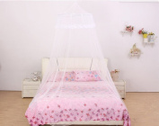 Bed Mosquito Net Canopy Netting Curtain Dome Fly Midges Insect Stopping Pink for Holiday indoor Kids Bed Canopy Cotton Mosquito Net Kids Play Tent Curtains Room Decoration for Baby Indoor Outdoor Playing Reading
