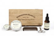 Bedfordshire Beard Co Deluxe Beard Gift Set