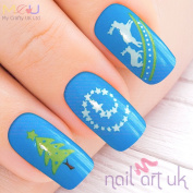 Christmas Water Decal Nail Art Stickers
