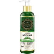 Morpheme Pure Organic Neem Oil (ColdPressed & Undiluted) 200ml