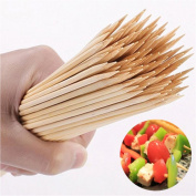 ECYC® 90pcs/lot 20cm*3mm Natural Bamboo Barbecue Sticks BBQ Tools