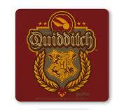 Film - Harry Potter - Quidditch - Logo - Coaster - Drink Mat - coloured - original licenced product - LOGOSHIRT