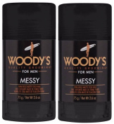 Woodys Messy Firm Hold Matte Stick Wax - 80ml