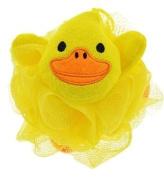 Animal-Shaped Bath Sponge, yellow duck
