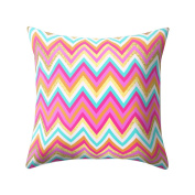 Pu Ran Square Geometric Pattern Throw Pillow Case Home Decor Sofa Waist Cushion Cover - 2#