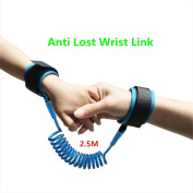 2.5M Child Anti Lost Safety Wrist Link Harness Strap Rope of Comfortable Extra Light and Breathable