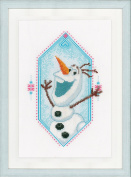 Disney's Frozen 'Olaf' Counted Cross Stitch Kit
