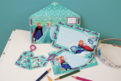 Disney's Frozen Anna and Elsa Printed Cards Embroidery Kit Set of 5