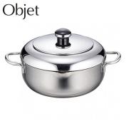 Art object (Objet) the tempura both hands hot pot 20cm OJ-44 Miyazaki mill Miyaco JAN